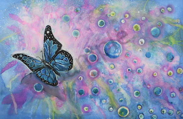 """""""Butterfly Bubbles"""" by Christy Clugston 