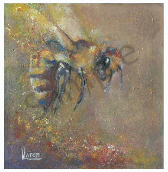 """Glory Bee"" by Karen Harkema 