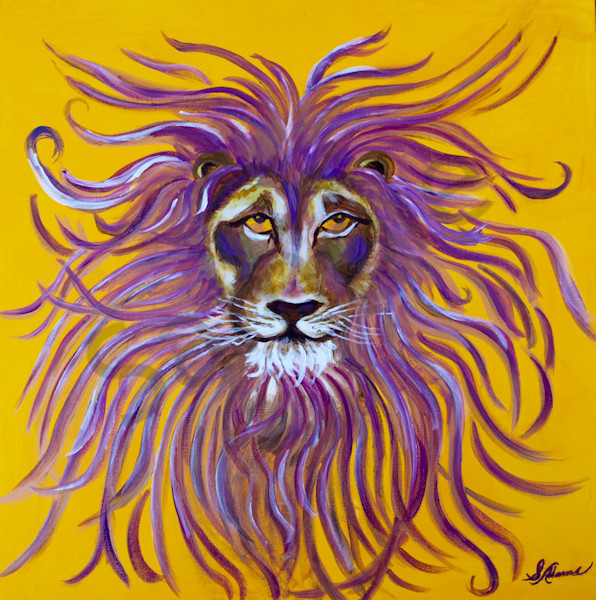 """The Lion's Eyes"" by Sharon Adams 