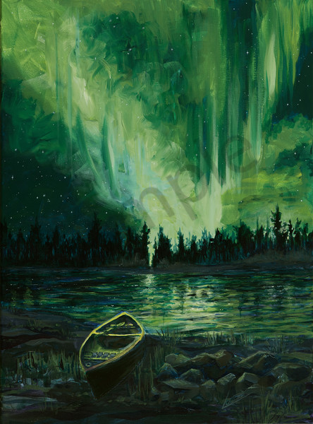 Northern lights Art and Paintings for Sale