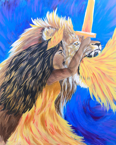 """The Roar Of The Bride"" by Kimberly Hogan 