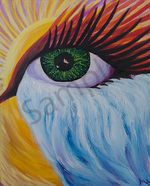 """Arise, Shine, Open Your Eyes"" by Kimberly Hogan 