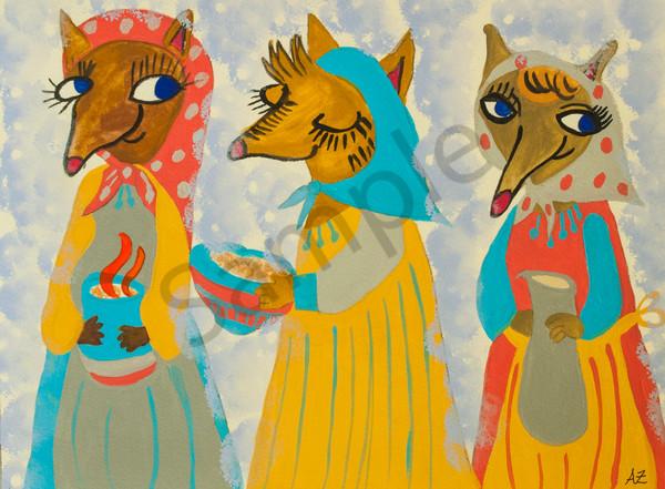 Babushka Foxes
