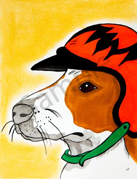 Hot Rod Pup Art | arteparalavida