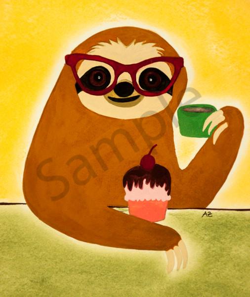 Sloth and Cupcake
