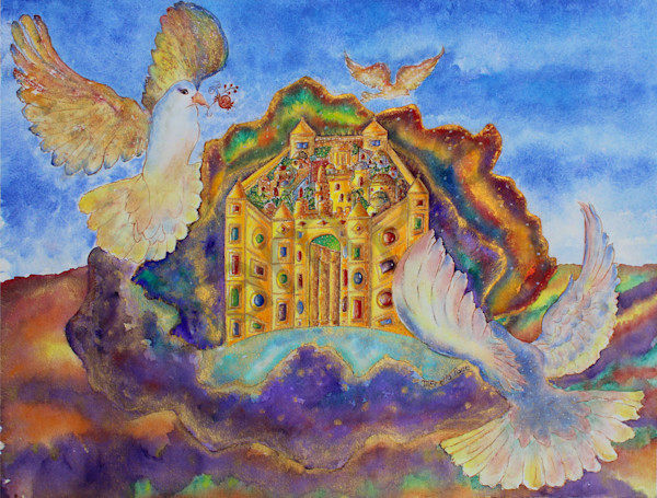 """""""New Jerusalem Of Gold"""" by Mariella Pace 