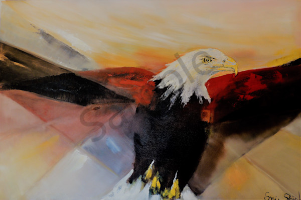 """The Eagle"" by Sonia Strumpfer 