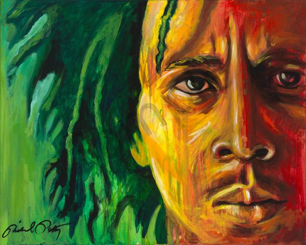 Bob Marley One Love Painting