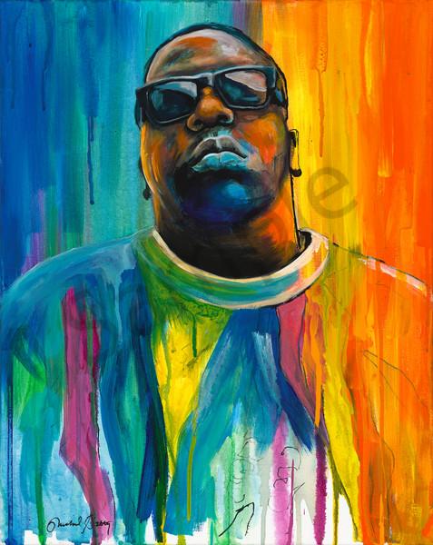 Notorious BIG, Biggie Smalls painting