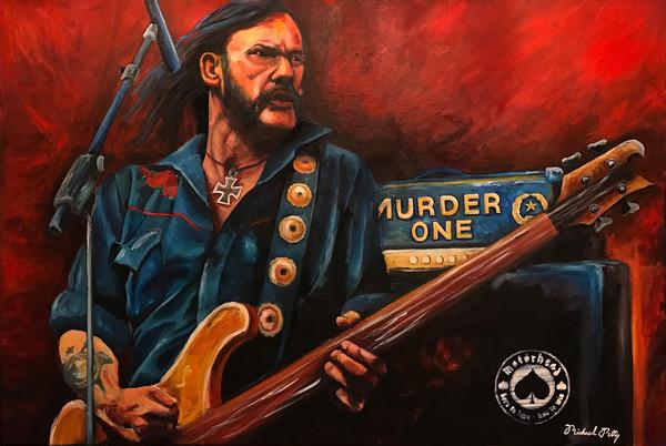 Motörhead Lemmy Painting