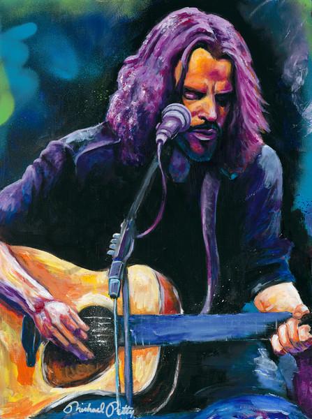 Chris Cornell Painting