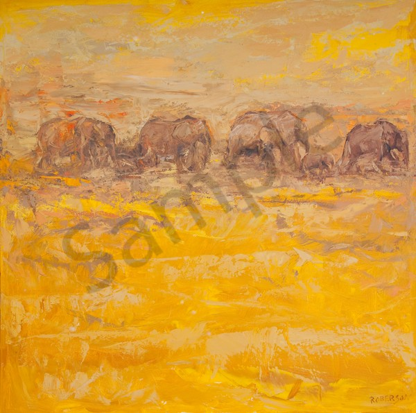 Amboseli Evening Art | Mary Roberson