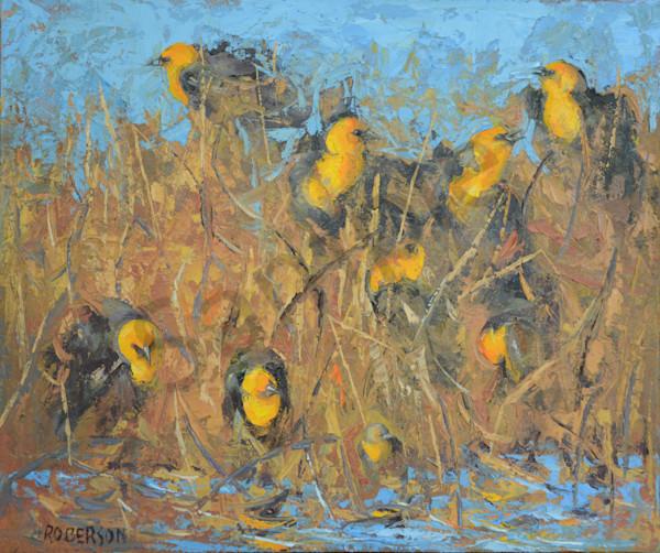 The Spring Marsh Celebrants Art | Mary Roberson
