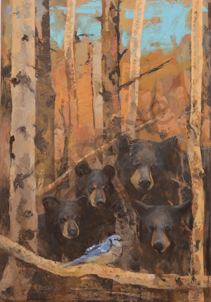 The Blue Jay Art | Mary Roberson