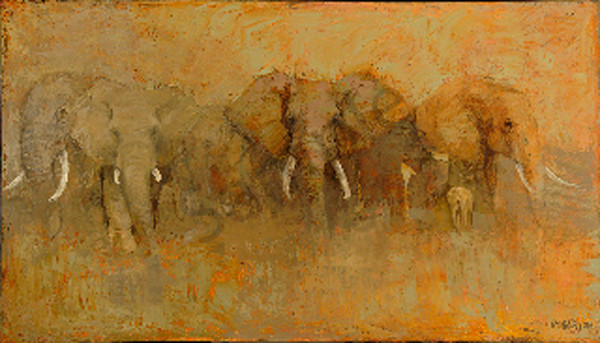 From Dawn To Tusk Art | Mary Roberson