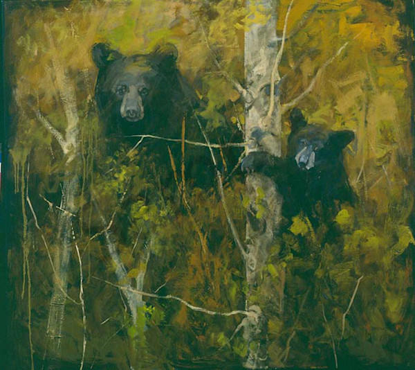 A Pair Of Bears Art | Mary Roberson