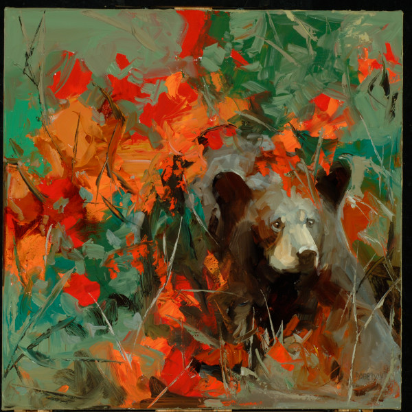 Autumn Bear Art | Mary Roberson