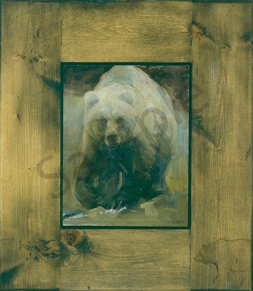 Brown Bear Art | Mary Roberson