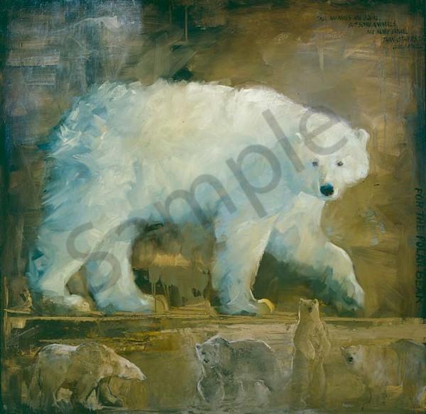 For The Polar Bear Art | Mary Roberson