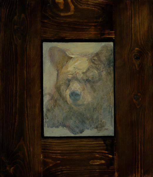 Faded Black Bear Art | Mary Roberson
