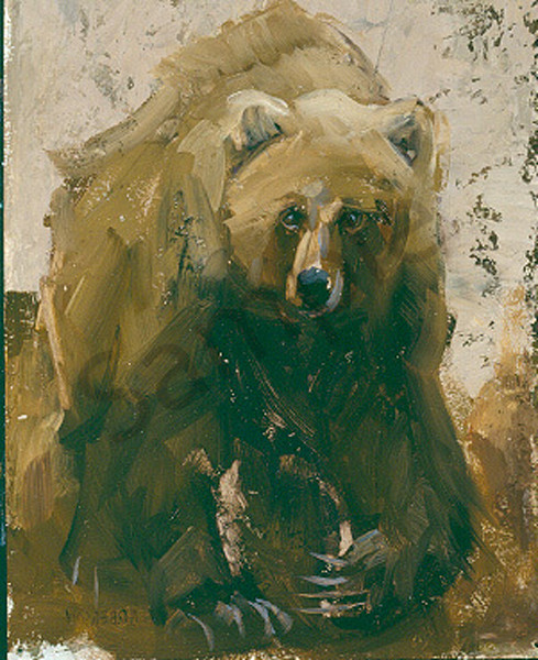 Grizzly Art | Mary Roberson