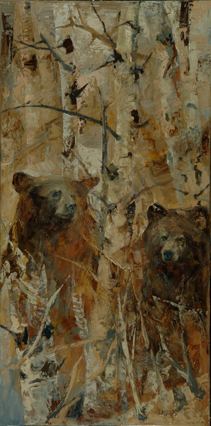 In The Sawtooths Art | Mary Roberson