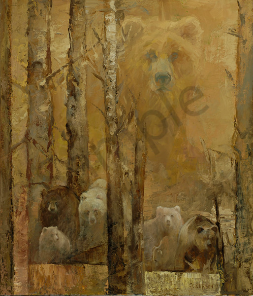 Lodgepole Forest Art | Mary Roberson