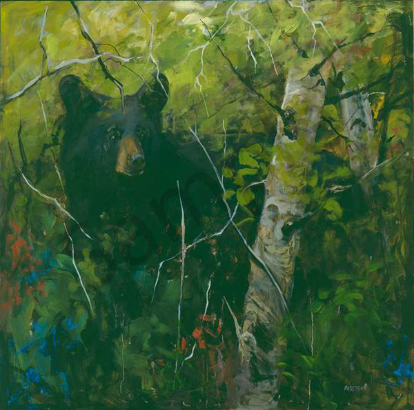 There's A Bear In There Art | Mary Roberson