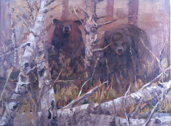 Viewing The Tourists Art | Mary Roberson