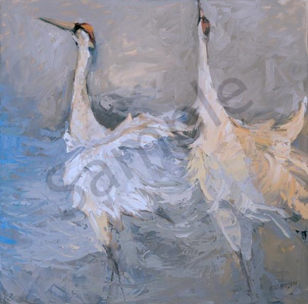 Ballet Cranes Art | Mary Roberson