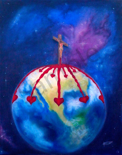 """God So Loved The World"" by Jeanette Sthamann 