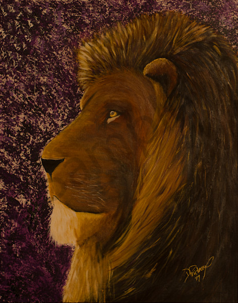 """Lion Of Judah - Waiting"" by Deanne Prideaux 