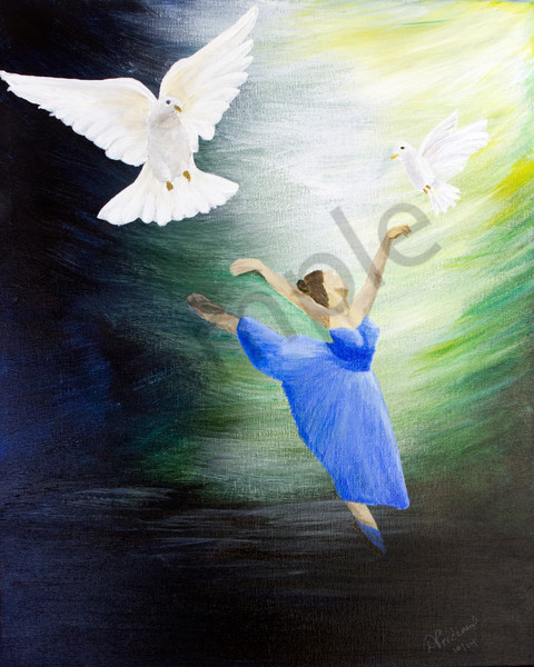 """Touched By Grace"" by Deanne Prideaux 