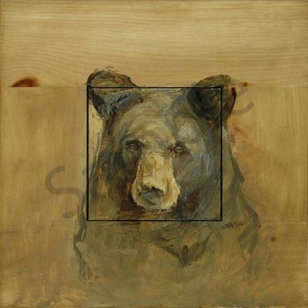 Second Year Black Bear Art | Mary Roberson