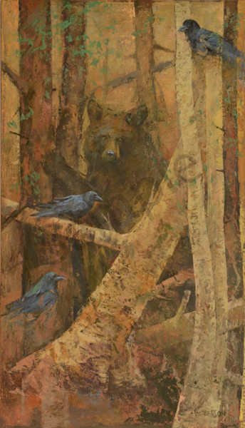 The Forest Deep Art | Mary Roberson