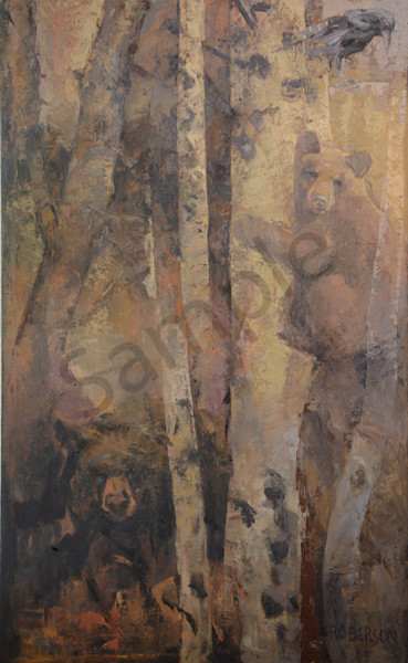Watchful Ones Art | Mary Roberson