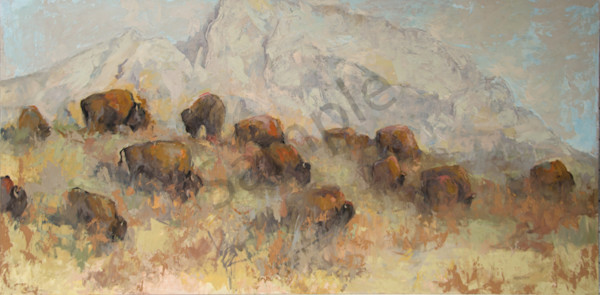 A View Of The Tetons From Antelope Flats  Art | Mary Roberson