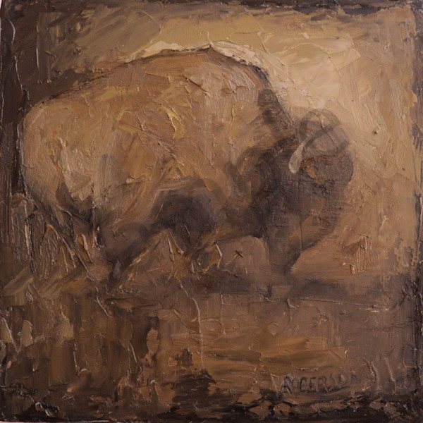 Bison0288 Art | Mary Roberson