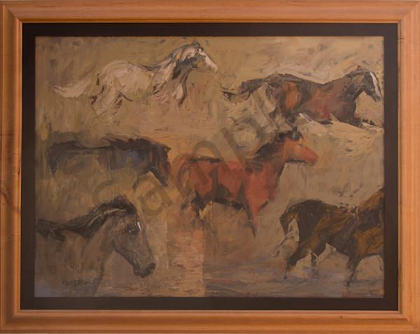 Horses Art | Mary Roberson