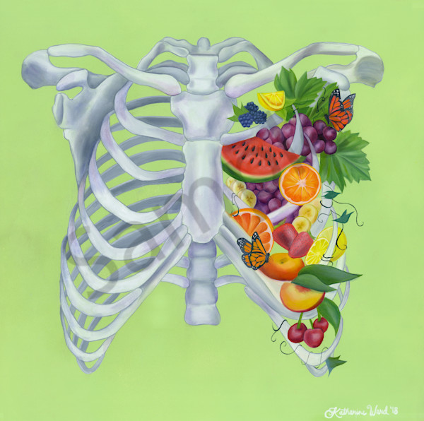"""Fruitful"" by California artist Katharine Ward 