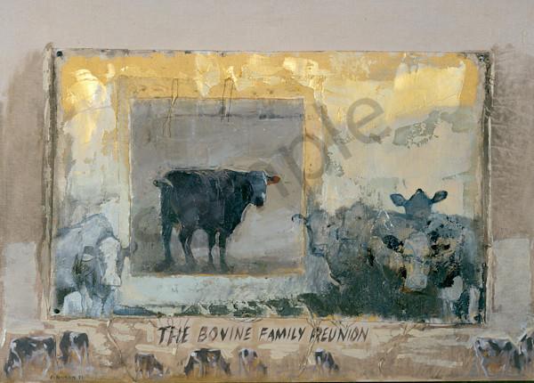 Bovine Family Reunion Art | Mary Roberson
