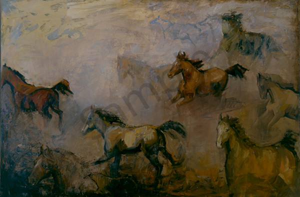 Rockin Horse Art | Mary Roberson