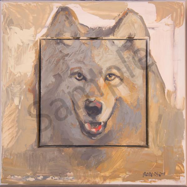 Pf Triptych Wolf Art | Mary Roberson