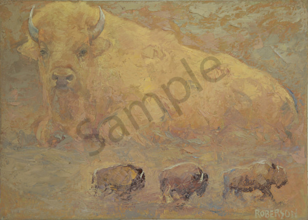 Spirit Of The White Buffalo Art | Mary Roberson