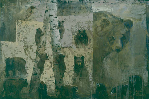 If You Watch A Bear For Awhile Art | Mary Roberson