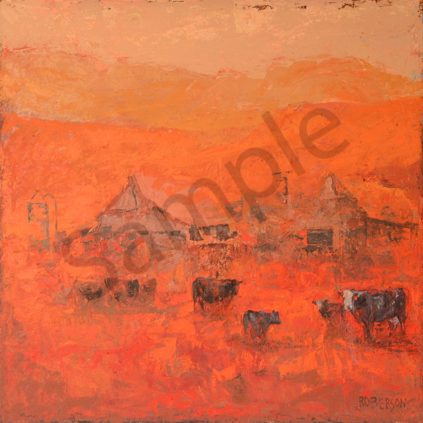 High Desert Ranch52x52 Art | Mary Roberson