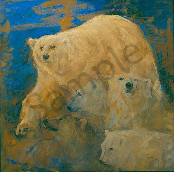 Arctic Gold Art | Mary Roberson