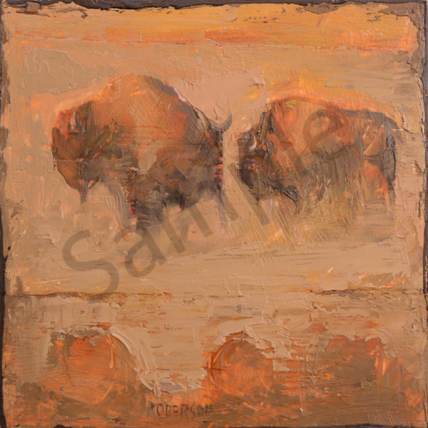 Bison0788 Art | Mary Roberson