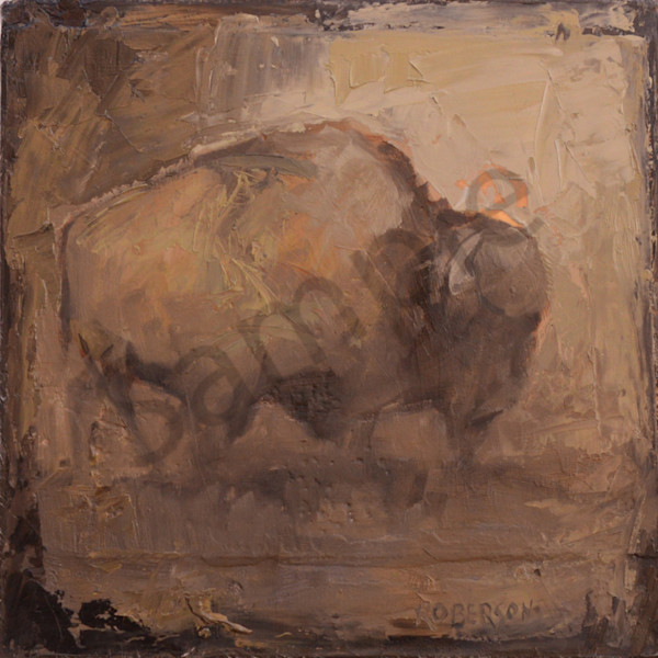 Bison0888 Art | Mary Roberson