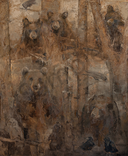Momma And Cubs Art | Mary Roberson